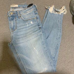 Zara Skinny Ankle Jeans